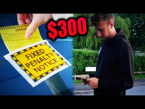 $300 PARKING TICKET PRANK AFTER JUST BEING FIRED (Is This Too Far ?)
