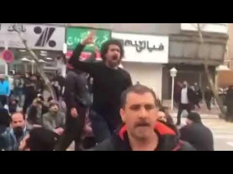 تجمع اعتراضی دراویش گنابادی در خیابان پاسداران تهران/ نشستن مقابل کلانتری