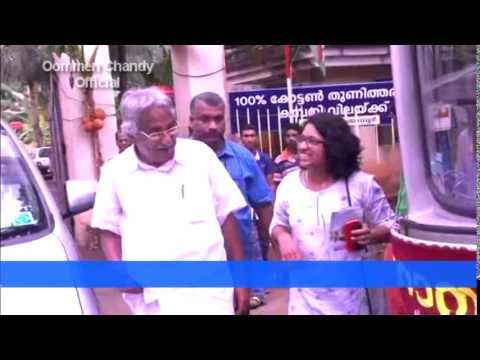 Oommen Chandy visited PRD's mobile campaign against alcoholism