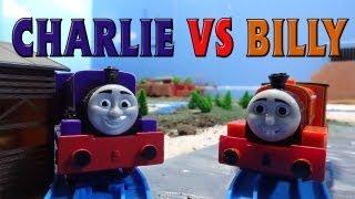 Tomy Sodor Races: Charlie vs Billy Race 15