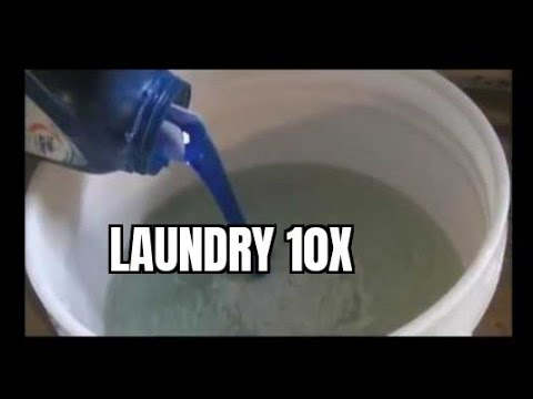 The BEST Homemade Laundry detergent Soap Pt 1