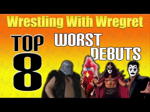 Top 8 Worst Debuts | Wrestling With Wregret