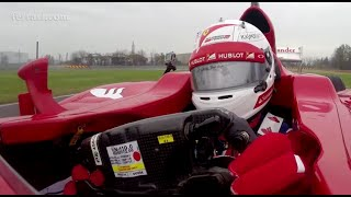 Onboard lap with Vettel in Fiorano
