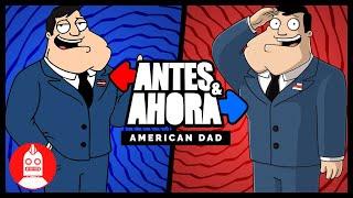 Antes y Ahora: American Dad (Atómico #296) en Átomo Network