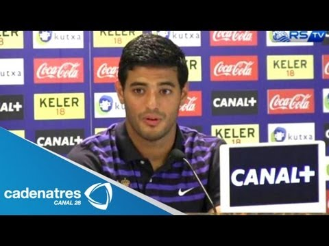 Carlos Vela no descarta regresar al Tricolor