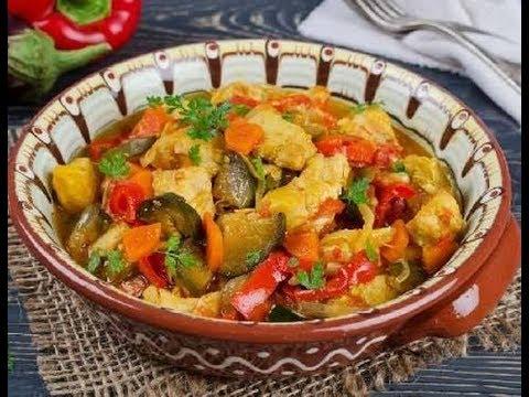 Очень вкусное овощное рагу