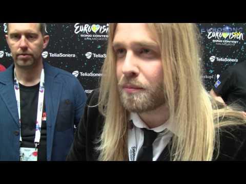 """Meet & Greet"" med Eythor Ingi (Island Eurovision 2013)"