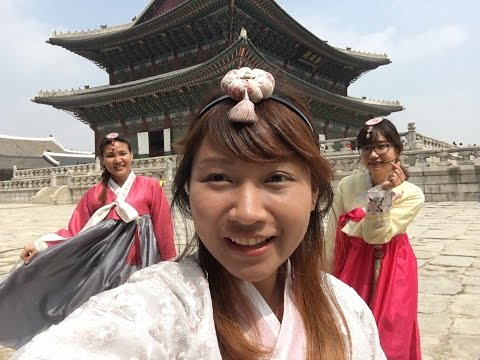 2016 Resolution: First Time - Exploring Seoul in Hanbok