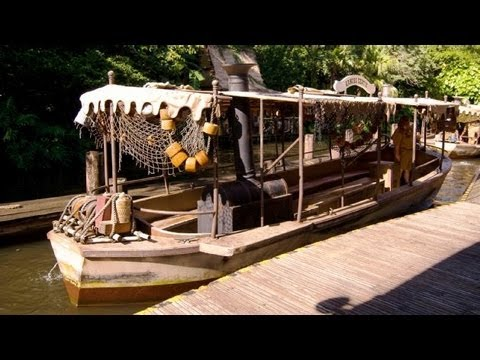 ♥♥ Jungle Cruise at Walt Disney World (in HD)