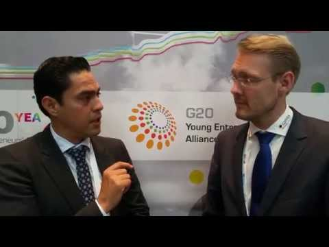 G20 YEA Summit 2015 - Interview with Eric (Mexican Delegate): Why is the Summit so attractive?