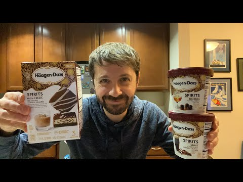 Haagen-Dazs Ice Cream with Alcohol Taste Test Livestream!