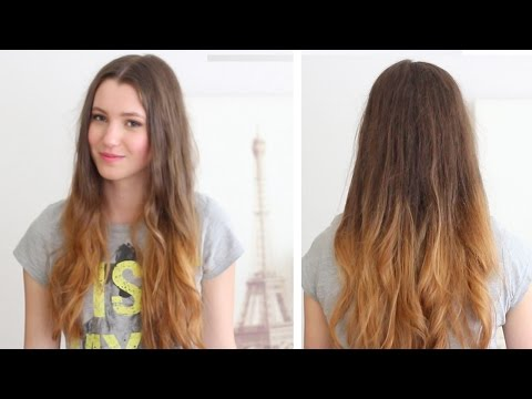 How to ombre your hair   at home DIY + Loreal Wild Ombre Kit Review