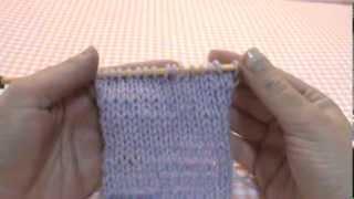 ΠΛΕΞΙΜΟ ΜΕ ΒΕΛΟΝΕΣ   ΠΛΕΞΗ ΖΕΡΣΕΫ (πλέξη κάλτσα)