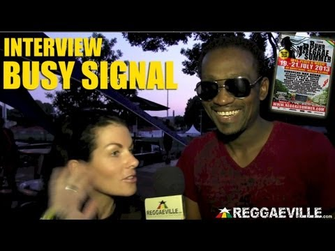 Interview with Busy Signal @Ruhr Reggae Summer 7/21/2013