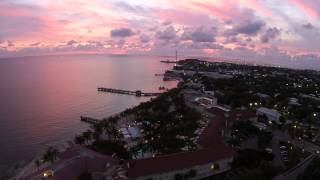 Key West - Flying Over Higgs Beach