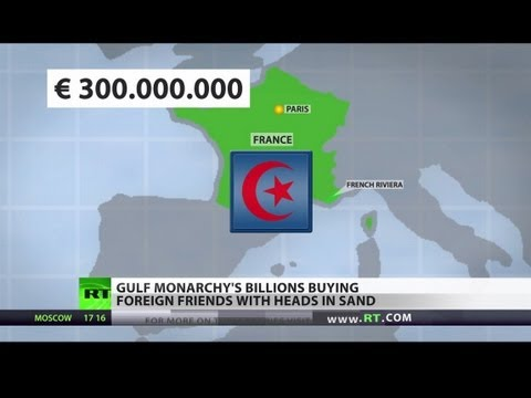 Gulf Cash Splash: Qatar buys foreign friends with heads in sand