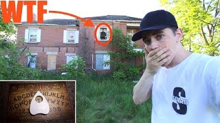 (SCARY) SNEAKING INTO A DEMON HAUNTED HOUSE (HOLY SH*T) **We Found This**