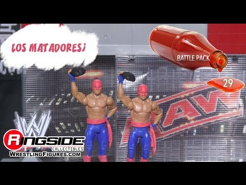 WWE FIGURE INSIDER Los Matadores - WWE Battle Packs Series 29 Toy Wrestling Action Figure RSC Review