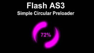 Download Lagu Simple Circular Flash Preloader Animation Tutorial for ActionScript 3.0 CS4 CS5.5 Website Gratis STAFABAND