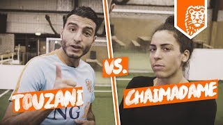 TOUZANI VS. CHAIMADAME - VOETBAL SKILLS BATTLE!