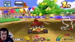 Let's Play Mario Kart Arcade GP [German/4K] Part 4: PAC MAN CUP