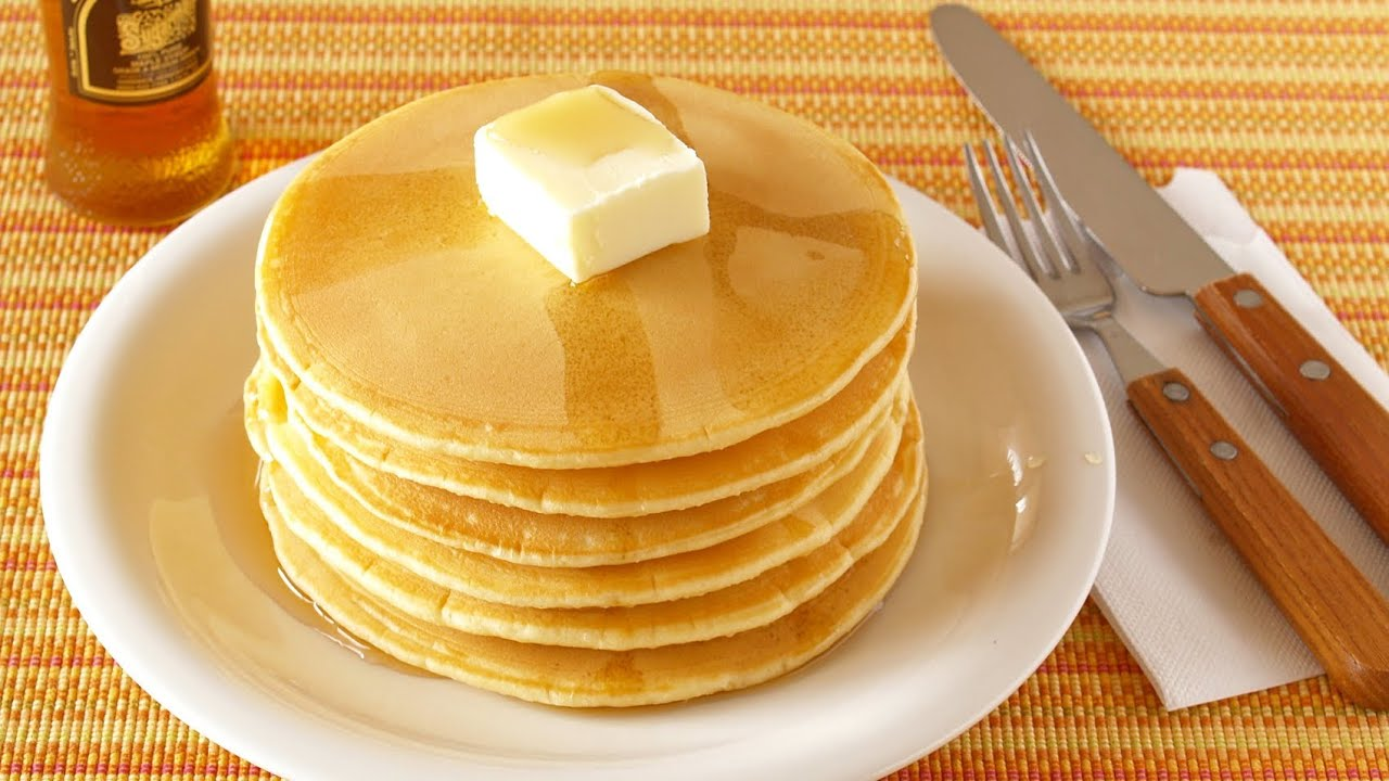 How to cook pancakes with milk