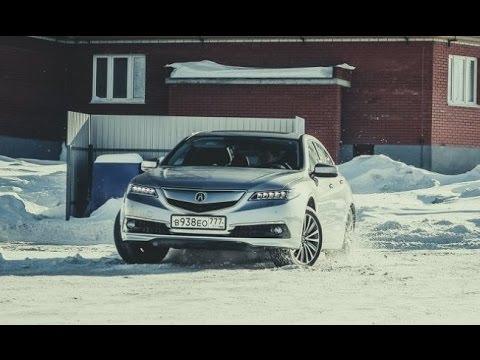 Acura TLX Тест-драйв.Anton Avtoman.