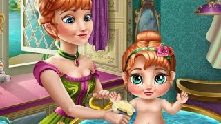 Anna Princess - Anna Baby Bath Time Disney Princess Cartoon Games For Girls