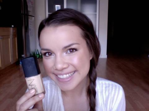 NARS Sheer Glow Foundation Routine