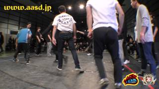 Finał UK B-Boy Championships Japonia 2016: WASEDA BREAKERS vs FOUNDNATION