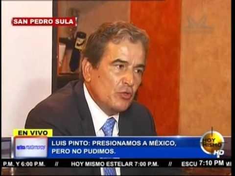 """TVC Hoy Mismo estelar- Pinto: """"presionamos a México, pero no pudimos"""""""