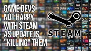 "Steam's Update is ""A Catastrophe"" and is ""Killing Indie Gaming"""