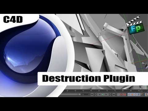 Tutorial Cinema 4D- Destruction Plugin – Português