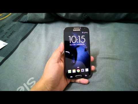 Samsung Galaxy S4 Black Edition (Faux Leather) Unboxing