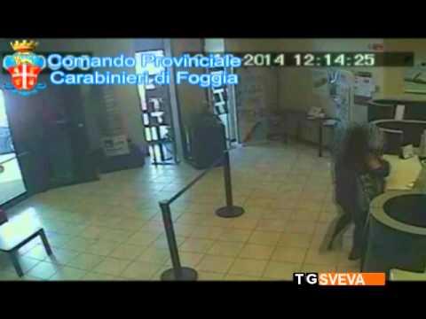 Trinitapoli | Rapina alla Banca Monte dei Paschi di Siena: due arresti