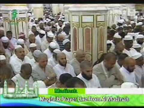 Madina Maghrib Prayer SALAT