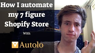 Dropshipping Automation- How I automate my 7 figure Shopify store (Do as little work as possible)