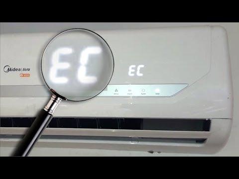 EC Error Code   air conditioner split