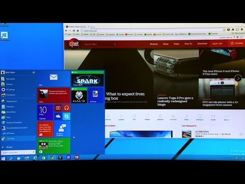 Let's take a first look at the Windows 10 Technical Preview