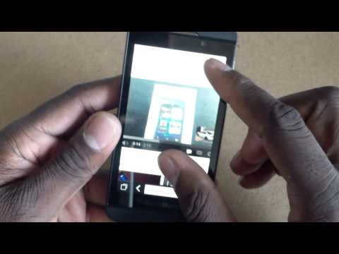 T-Mobile Blackberry Z10 Walk through, and hands on.