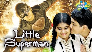 Little Superman - New Bollywood Kids Hindi Dubbed Movie | लिटिल सुपरमैन | Action Adventure Comedy