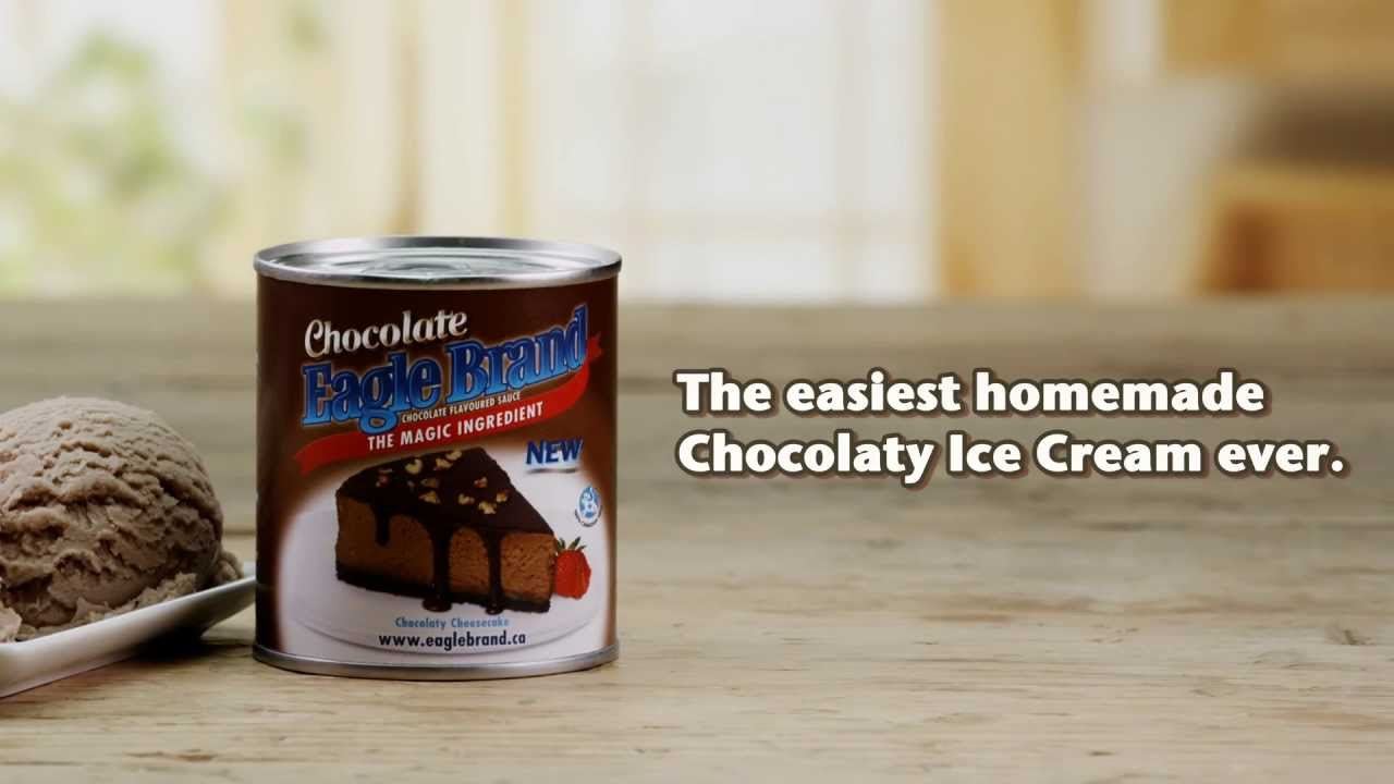 Eagle Brand® - Easiest homemade chocolate ice cream ever ...