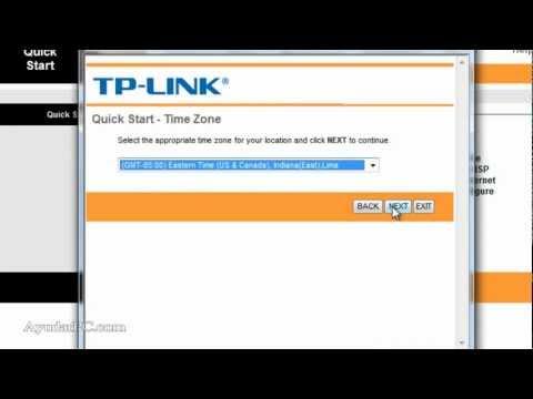 Configuracion router TP-Link  TD8901G(Movistar)