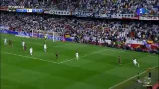 Golazo de Gareth Bale  ~ FC Barcelona vs Real Madrid 1- 2 Final Copa Del Rey 16 04 2014 HD