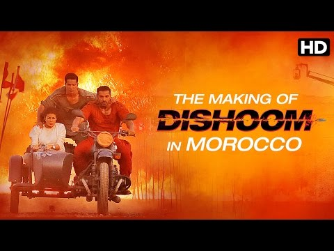 Making Of Dishoom (Morocco Sequence) | Dishoom | John Abraham, Varun Dhawan, Jacqueline Fernandes