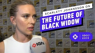 Scarlett Johansson on the Future of Black Widow in the MCU - Comic Con 2019
