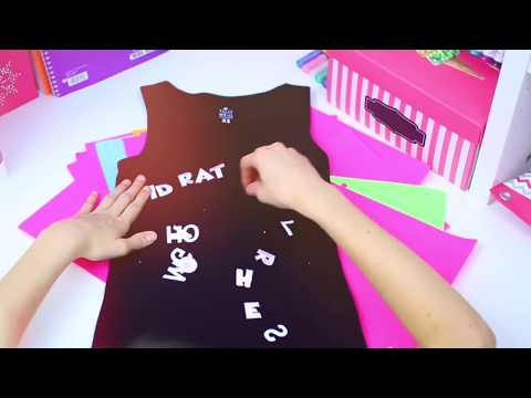 DIY Tumblr School Clothes! | Easy T-shirt Ideas!