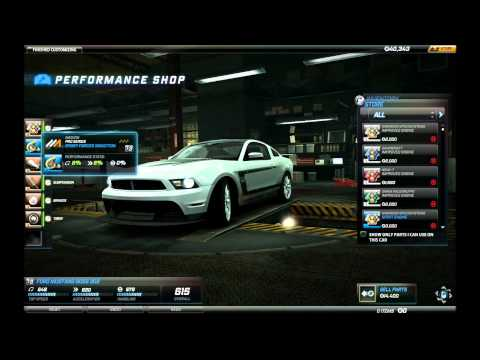 Need For Speed World - Cars and Pro Parts Review and Car Customization (NFSW - Play4Free)