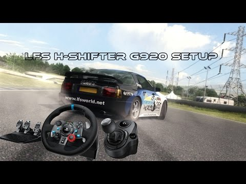 HOW TO SETUP Live For Speed with G920 H-Shifter!