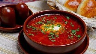 Как готовить красный борщ. | How to cook red borscht.